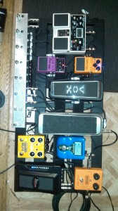 Bill Shannon Pedal Board - May 2013
