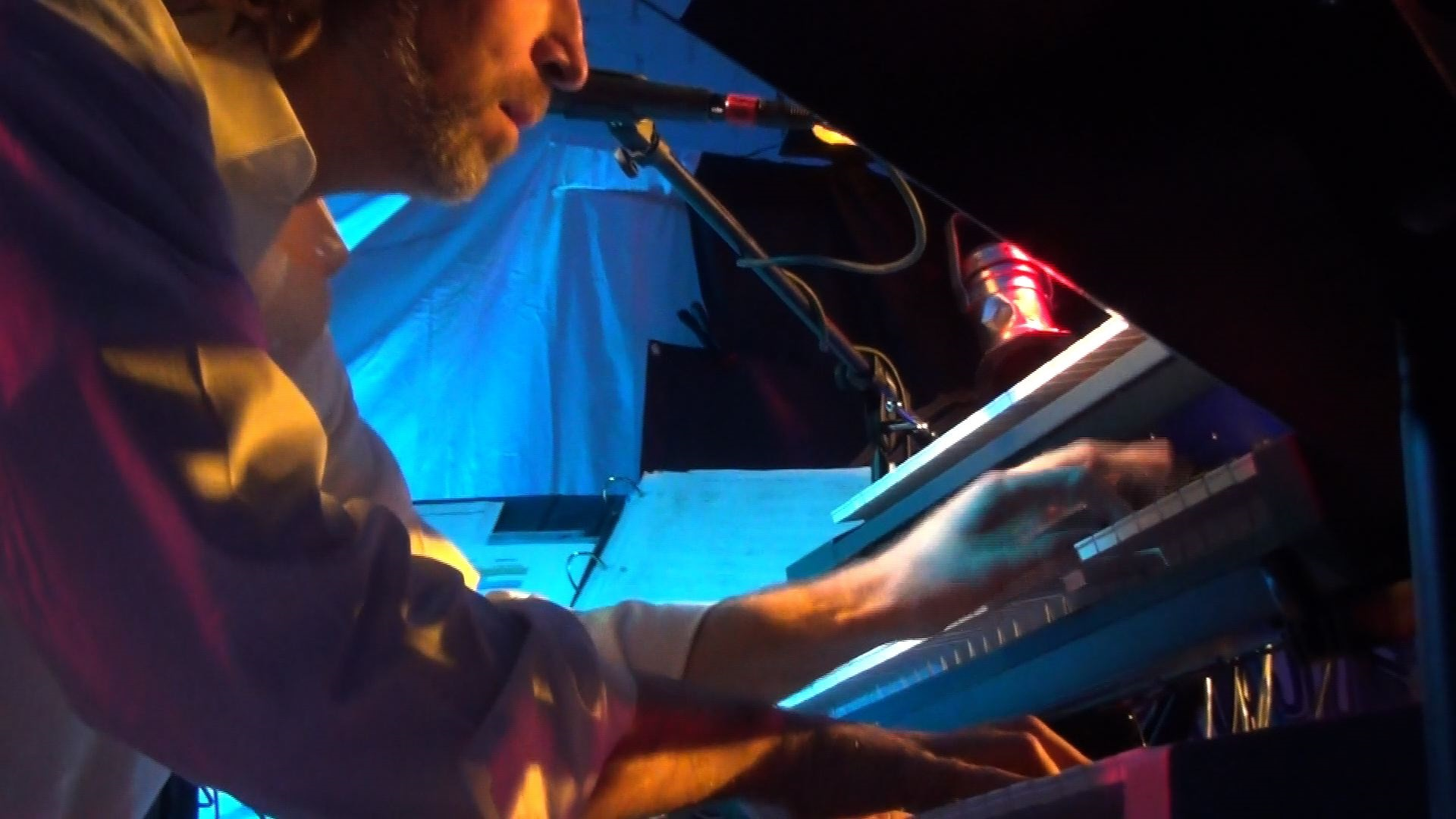 Andrew Colyer with Progressive Rock Tribute Band Downing Grey at Putnam Den - #3