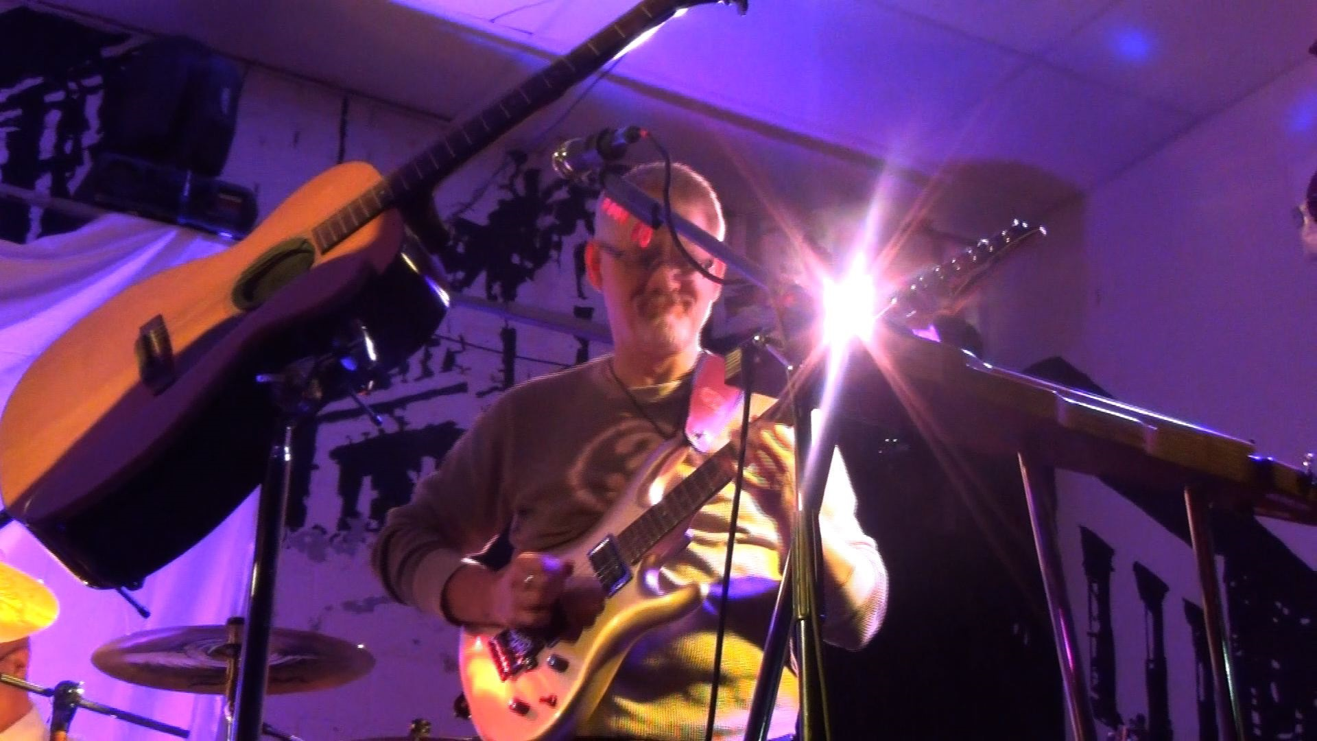 Bill Shannon with Progressive Rock Tribute Band Downing Grey at Putnam Den - #1
