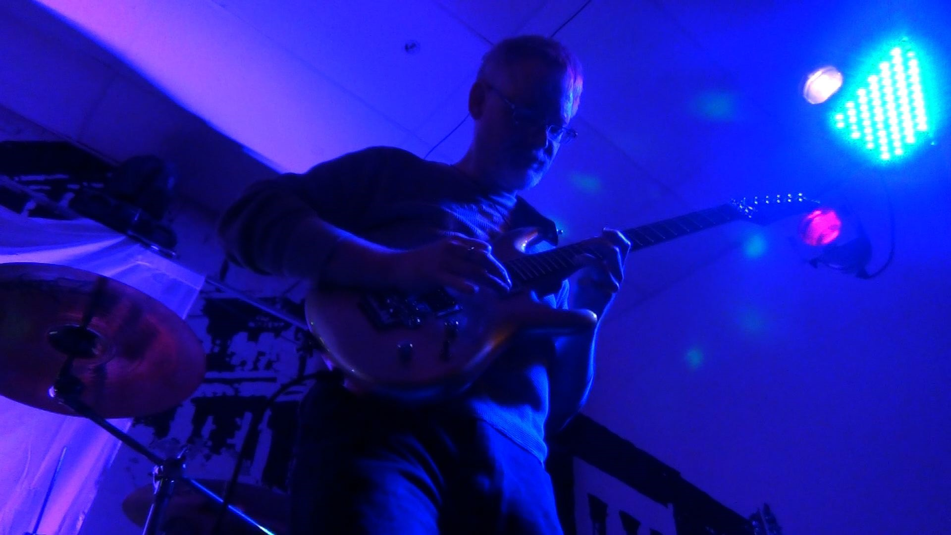 Bill Shannon with Progressive Rock Tribute Band Downing Grey at Putnam Den - #2