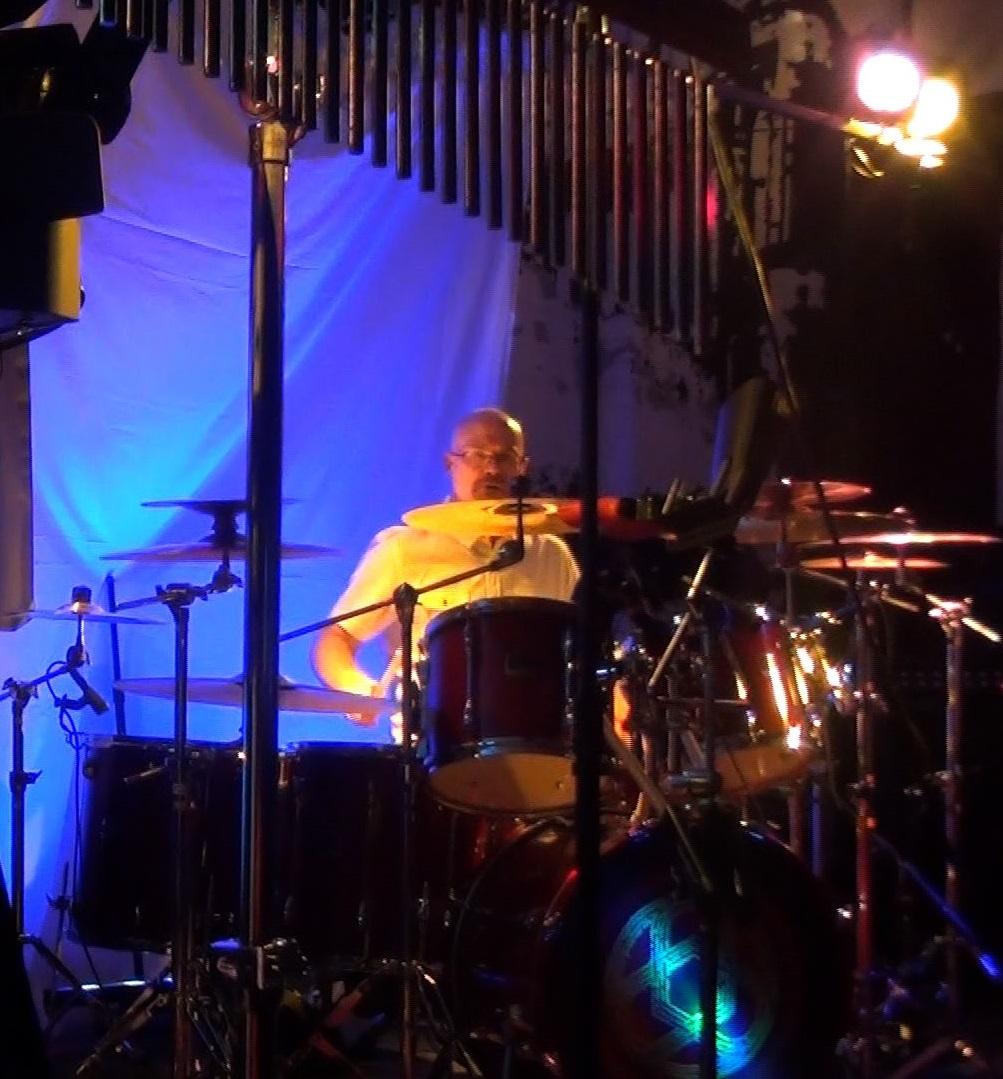 Darin Brannon with Progressive Rock Tribute Band Downing Grey at Putnam Den - #1