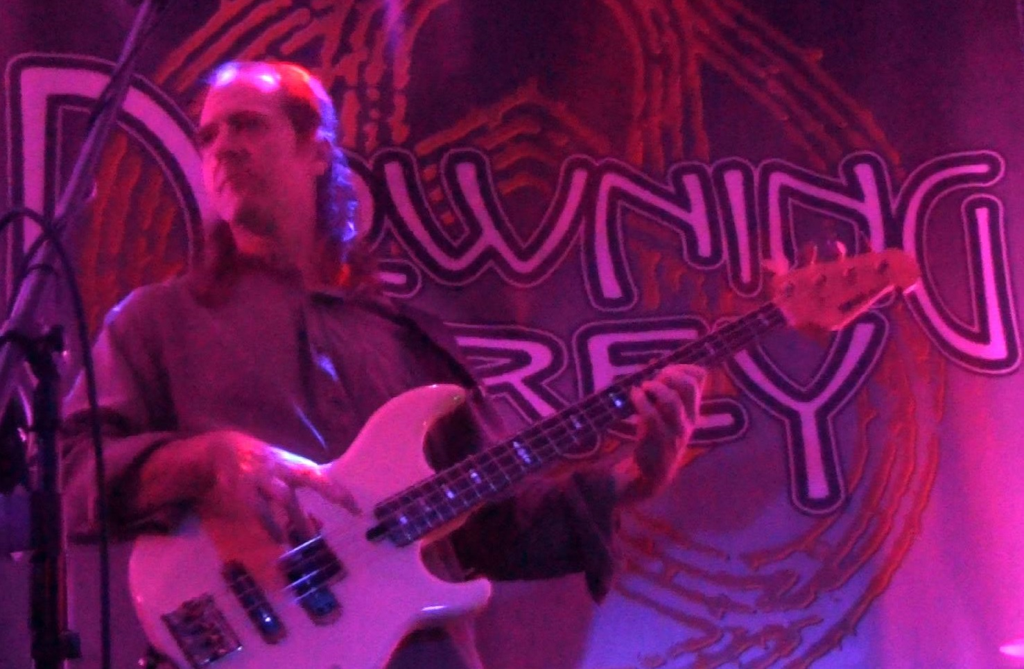 Dave Ostrowski with Progressive Rock Tribute Band Downing Grey at Putnam Den - #1