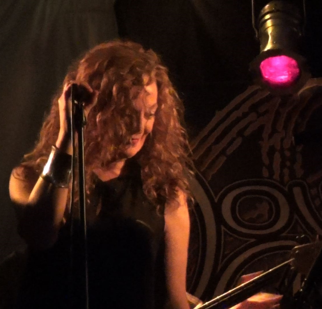Natalie Brown with Progressive Rock Tribute Band Downing Grey at Putnam Den #1