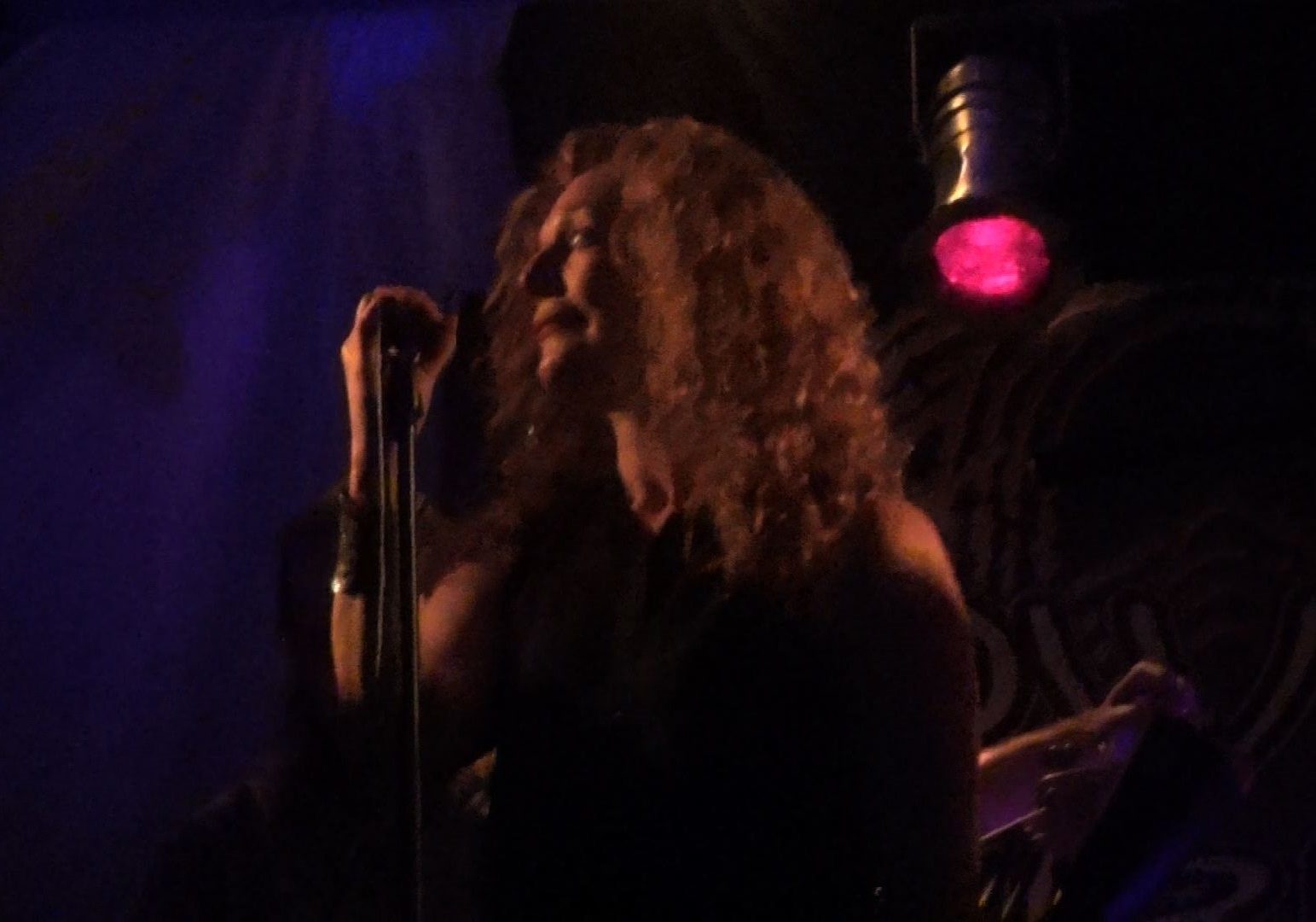 Natalie Brown with Progressive Rock Tribute Band Downing Grey at Putnam Den - #2