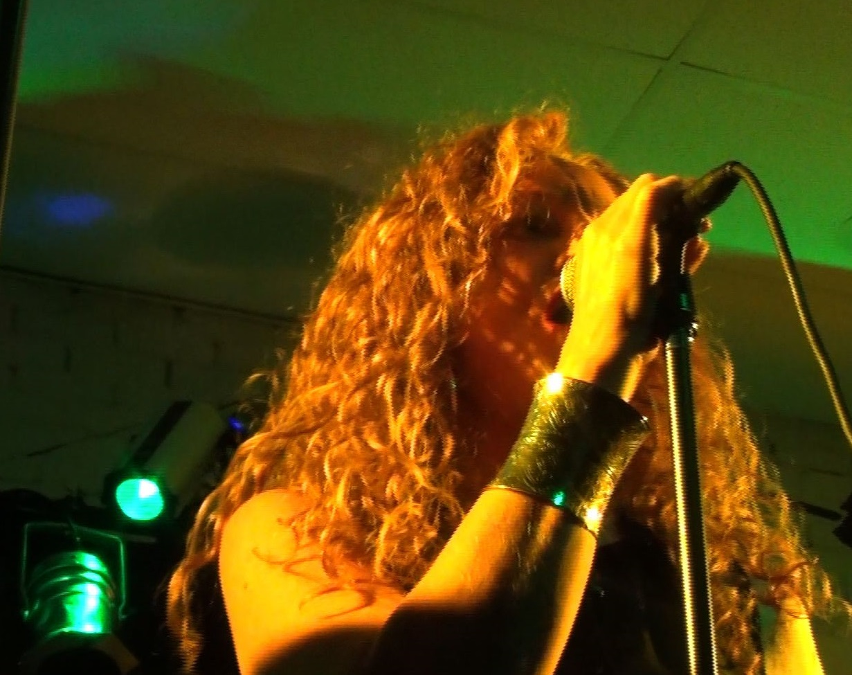 Natalie Brown with Progressive Rock Tribute Band Downing Grey at Putnam Den - #3