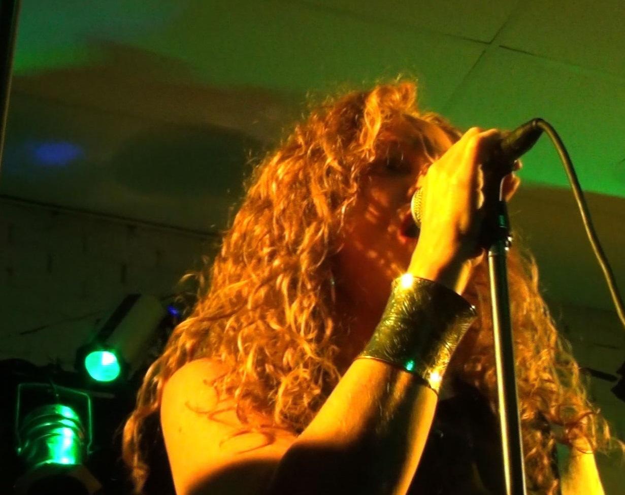 Natalie Brown with Progressive Rock Tribute Band Downing Grey at Putnam Den - #3
