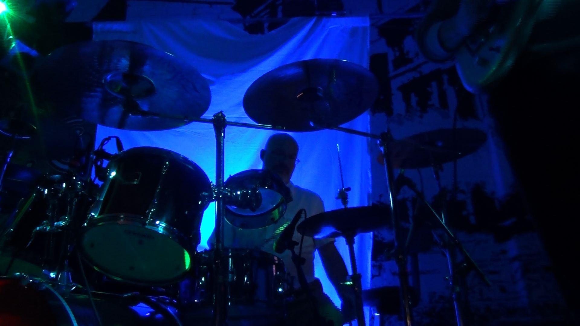 Darin Brannon with Progressive Rock Tribute Band Downing Grey at Putnam Den - #3