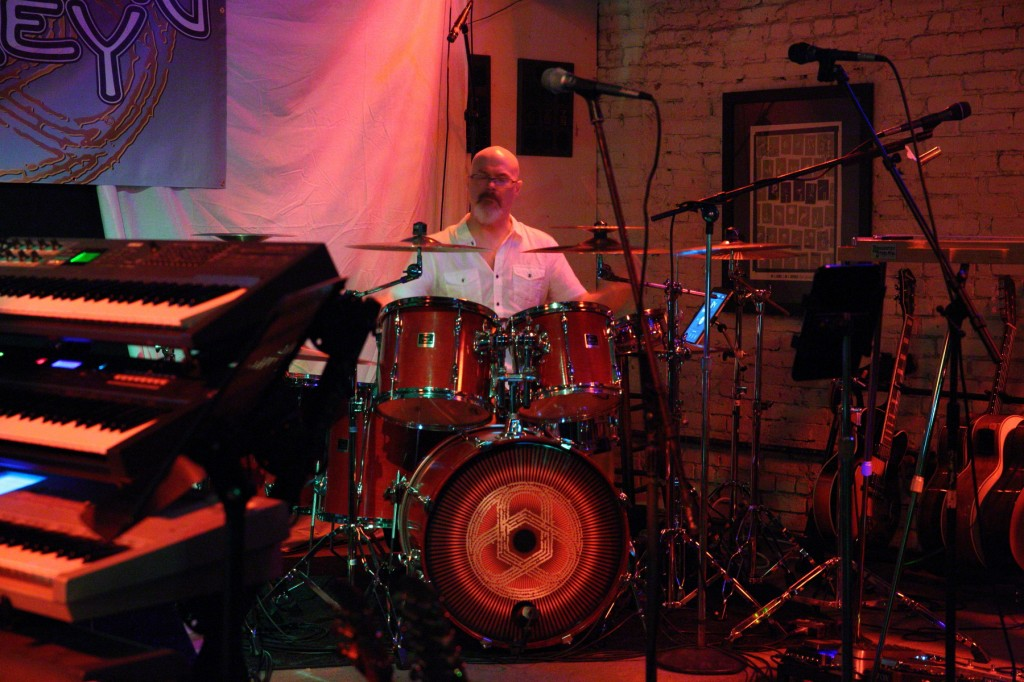 Darin Brannon with Progressive Rock Tribute Band Downing Grey at Keegan Ales – #2