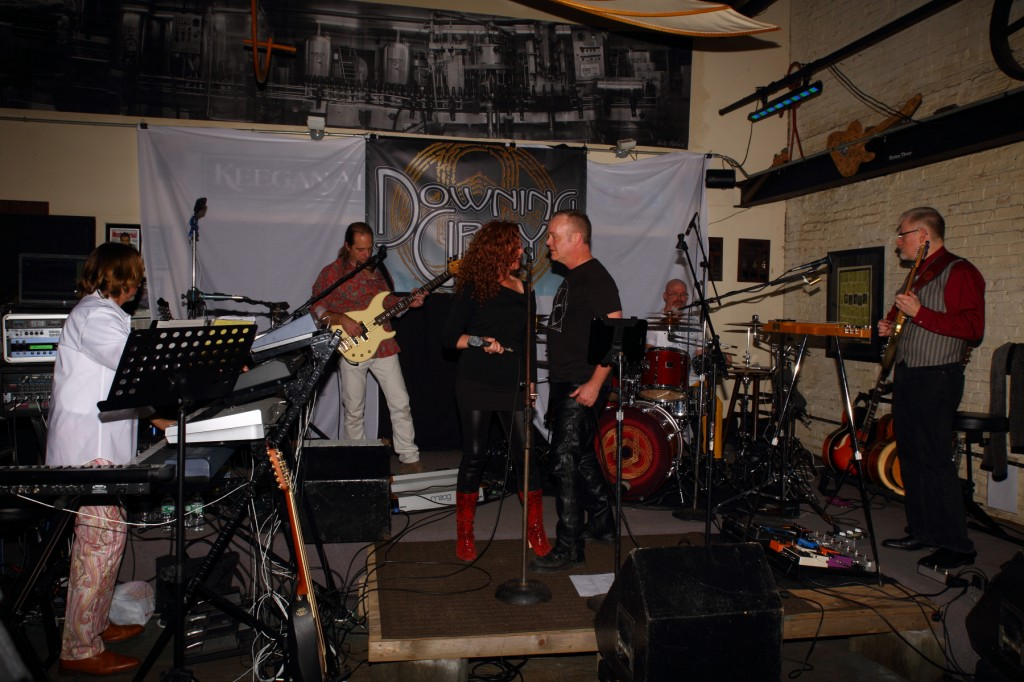 Progressive Rock Tribute Band Downing Grey at Keegan Ales – #3