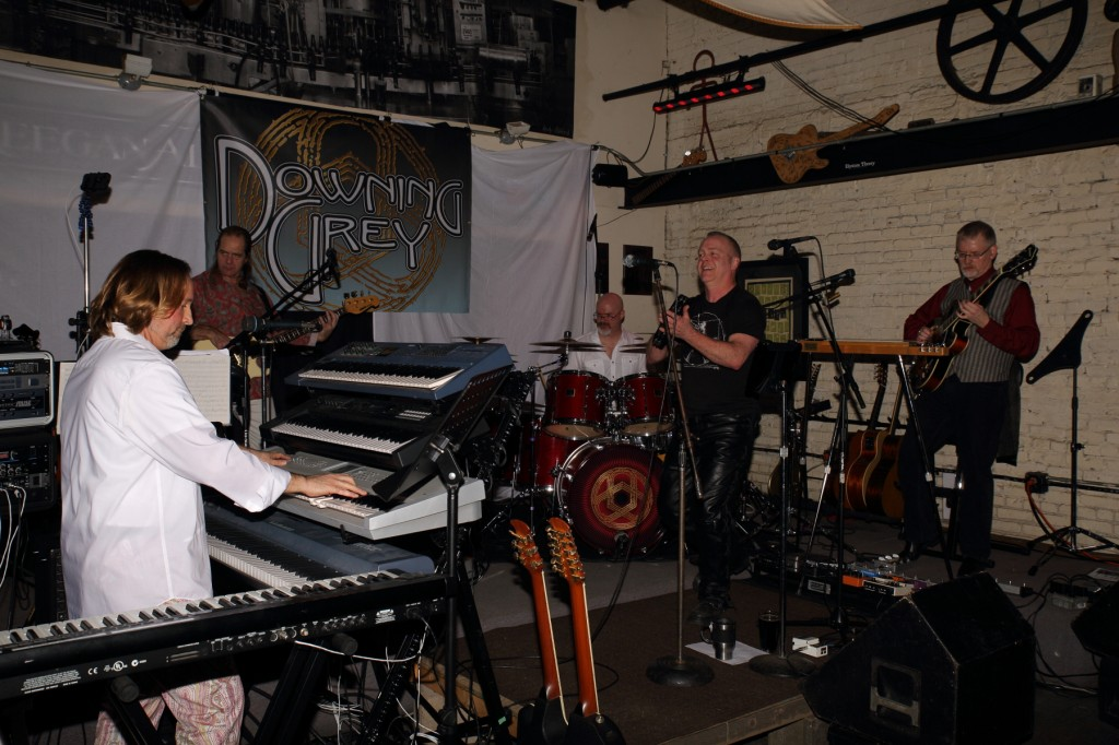 Progressive Rock Tribute Band Downing Grey at Keegan Ales – #5