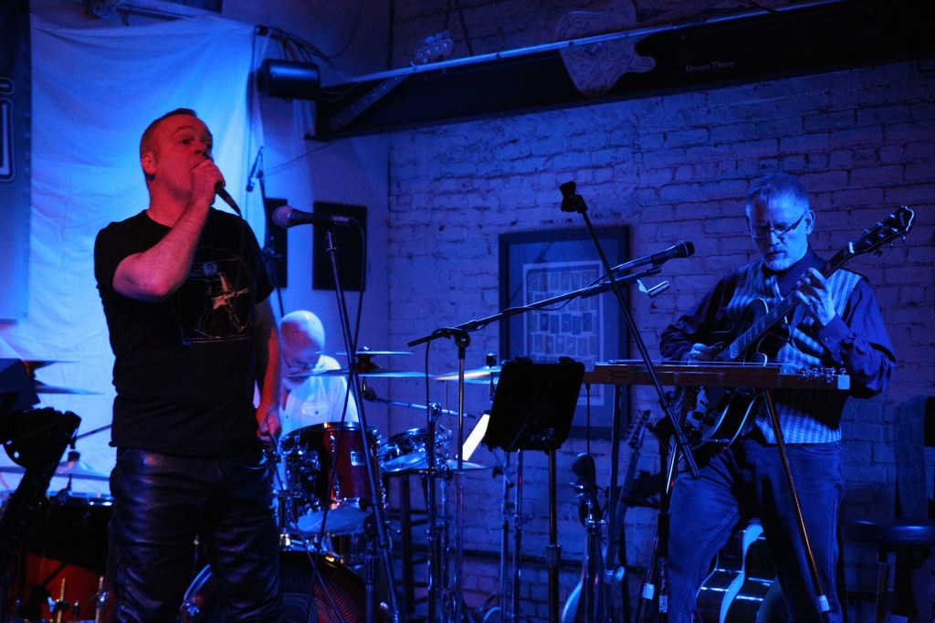 Billy Spillane, Darin Brannon, and Bill Shannon with Progressive Rock Tribute Band Downing Grey - #1